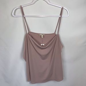 Express One Eleven Cowl Neck Tank top Cami NWT XL